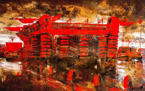 San Siro rosso